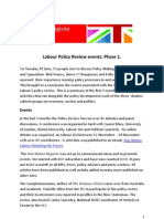 Labour Policy Review