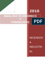 Analisis Economico y Fin . Meteria Desarrollada