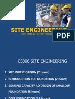 Topic 1 Site Investigation PDF