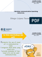 Visual Arts to Developt Communicative Teaching Resources