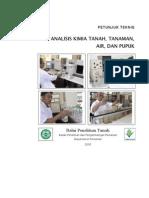 Analisis Kimia Tanah, Tanaman, Air, Dan Pupuk
