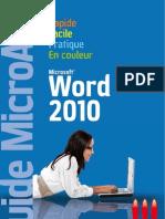 Micro Application - Word 2010