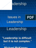 Challenges in Leadership