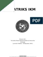 Matriks IKM 1