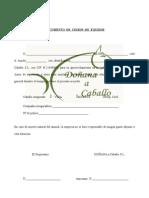 Documento Cesion