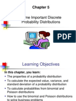 Discrete Probability Distribution data models