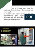 Servicios de Mecanizado
