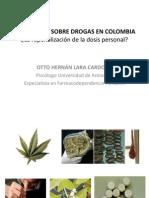 LaraCardona Legislacion Sobre Drogas en Colombia Comite Prevencion Gov Co 2011