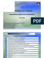 Module 4 - Developing Conceptual Framework - Dr Raja Munirah