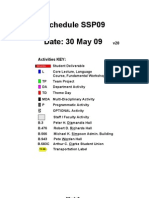 Schedule SSP09 Date