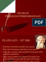 Sejarah Psikologi Perkembangan