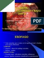 4ta Clase Abdomen - Esofago, Estomago, Bazo - Dr. Enriquez