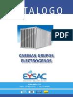 CATALOGO EYSAC Cabinas Insonorizadas