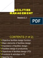 2.1 Facilities Management