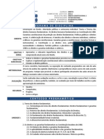 Programa de Direito Constitucional 2 - FRM