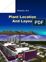 2. 2 .a & 2. 2.b Plant Location and Layout