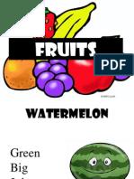 Fruits Adjctive