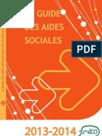 Guide des Aides Sociales 2013-2014