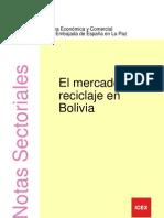 Mercado Del Reciclaje en Bolivia
