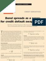 Pugachevsky - Bond to CDS Spreads