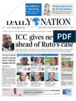 Daily Nation Tuesday