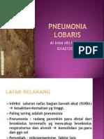 Pneumonia Lobaris