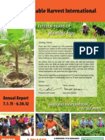Sustainable Harvest International Annual Report FY2012
