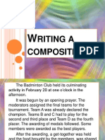 Writing a Composition