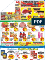 Friedman's Freshmarkets - Weekly Ad - September 19 - 25, 2013