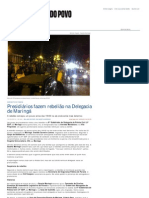 Presidiários fazem rebel...adania - Gazeta do Povo