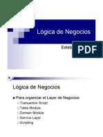Parte II - Logica de Negocios