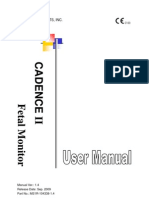 Manual Usuario Edan Cadance II