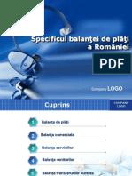 Balanta de Plati a Romaniei