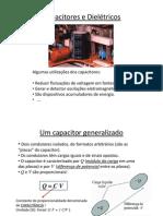 Capacitores e Dieletricos