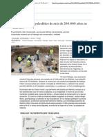 Hallado un taller paleolítico de más de 200.000 años en Vicálvaro _ Madrid _ EL PAÍS