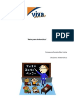 projeto reforço escolar de matematica EM