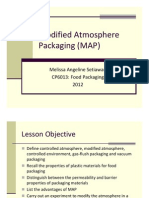 Modified Atmospheric Packaging (MAP)