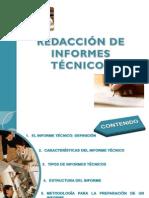 Redaccion de Informes Tecnicos