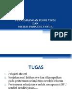 Tugas Kimia Awal BAB II (ATOM Dan SPU)