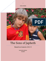 JAPHETH -Tribes and Nations