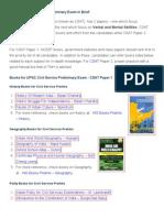 Civil Services Books Pdf