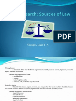 Report Legal Research