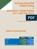 Reforma Tributaria LEY 1607 DIC-26-12 ITA