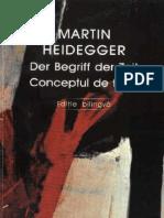Martin Heidegger - Conceptul de Timp