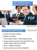 EnterprizeERP - Finance Transformation - IfRS Series US GAAP and IFRS - Series-2