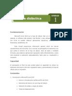 Unidad 1 - Introducción a Microsoft Excel 2010