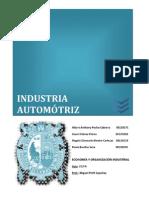 Trabajo OI 212 Industria Automotriz