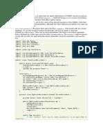 Store Procedure Docs