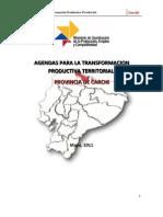 Agenda Territorial Carchi