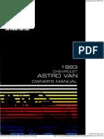 1993 Chevrolet Astro Van - 1993-Chevrolet-Astro